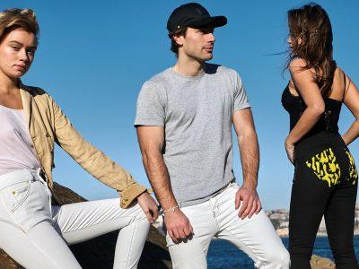 Tri Colour Federation - Denim Jeans (Mens & Womens )& Womens Tops & Caps