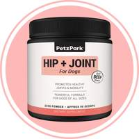 PetzPark - Dog Supplements - Hip & Joint pain relief & Pro Biotic