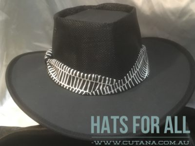 Cutana Hat Company - Leather & Canvas Handcrafted Aussie bush hats.