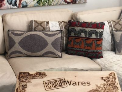 Wild Wares - Homewares - Anti-bacterial cutting boards & wall art prints.