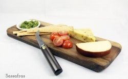 Kyries Tasmanian Timber Products - Chopping/Dipping Boards, Cheese knives, Wooden Jewellery