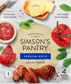 Simson's Pantry - Wraps