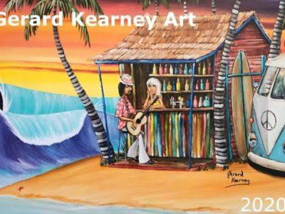 Gerard Kearny Art - Surf & Beach Art - Canvas & Poster Prints, Calenders &Coasters