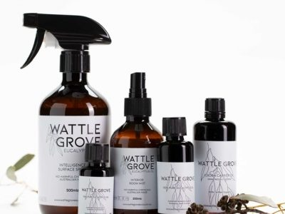 Wattlegrove Eucalyptus Oil - Eucalyptus Oil, Surface Spray, Hand wash & Candles