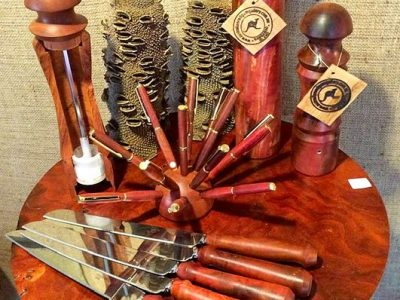 Australian Red Gum Gallery - Hand Turned Red Gum Products