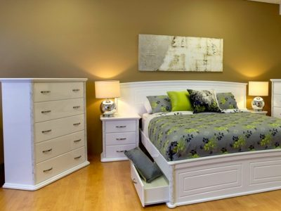 Accolade Furniture - Specialised High Gloss Two-Pack Bedroom Furniture
