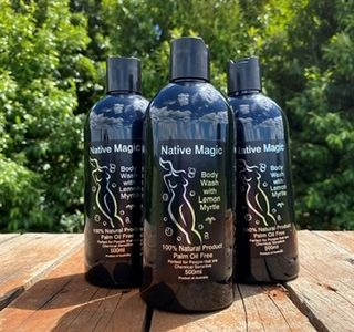 Native Magic - Body Oil, Body Soap, Lip Balm, Sanitiser & Leaf Tea