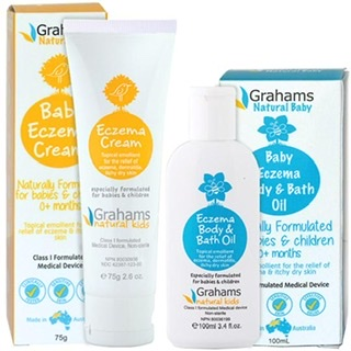 Graham's Natural Alternatives - Eczema, Psoriasis Dermatitis and Rosacea creams