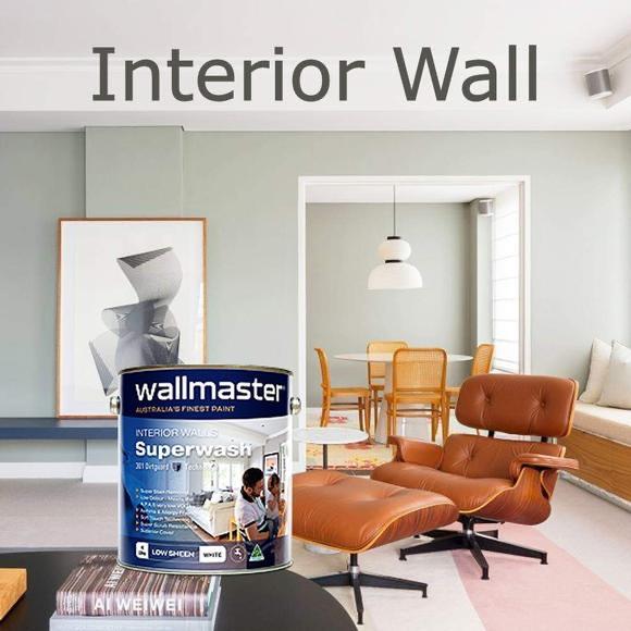Wallmaster Paints - Paint - Interior/Exterior - Very low VOC