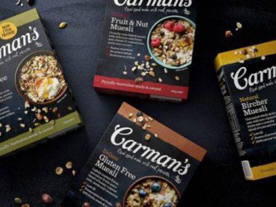Carmans - Museli Bars, Cereal & Snacks