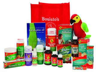 Bosistos - Essential oil blends including eucalyptus, lavender and tea tree.