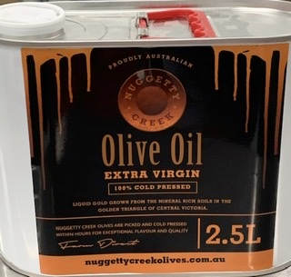 Nuggety Creek Olives - Olive Oil