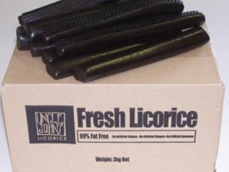 Uncle Johns Licorice - Licorice