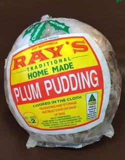 Ray's Plum Puddings - Hand Made Traditional Plum Puddings