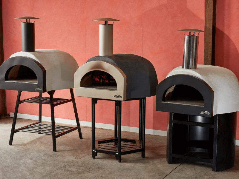 Polito Wood Fire Ovens - Wood fire pizza ovens -DIY kits or Ready made